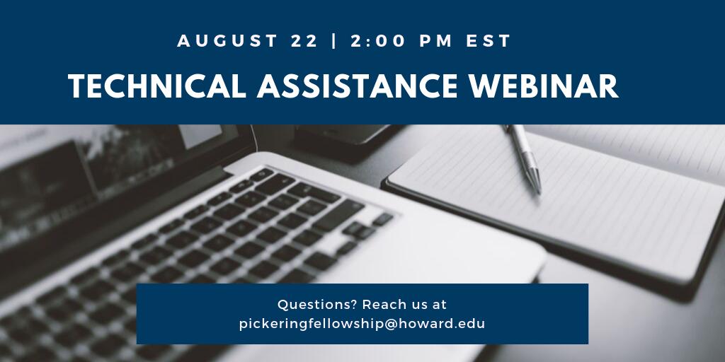 Pickering Technical Assistance Webinar