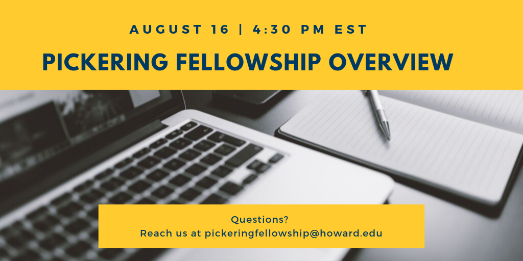 Overview of the Thomas R. Pickering Foreign Affairs Grad Fellowship